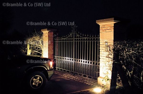 Wrought Iron Gate,Electric operated,Somerset